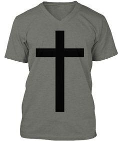 Gothic Cross Grey | Teespring