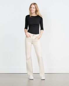 ZARA - WOMAN - ORGANIC COTTON TOP