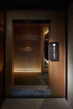 울산•부산인테리어 티디컴퍼니/ 틀을 깬 Design 이자카야 인테리어 술집인테리어 : 네이버 블로그 Japanese Bar, Japanese Style House, Japanese Modern, Japanese Design, Japanese Restaurant Interior, Japan Interior, Restaurant Entrance, Restaurant Restaurant, Zen Style