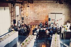 Venue: www.thegreenbuildingnyc.com | Quirky & Colorful Brooklyn Wedding - Green Wedding Shoes