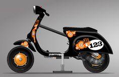Vespa Seventies Scooter Challenge Scootentole