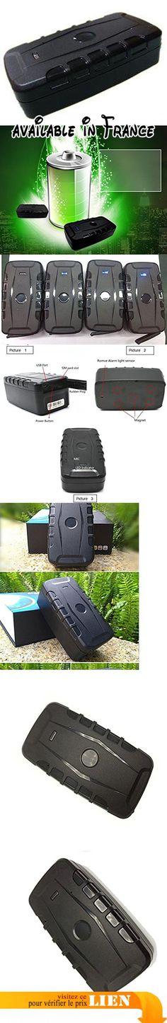 Véhicule GPS tracker imperméable à l'eau magnetic10000mAh GSM GPRS Dispositif de suivi GPS pour voiture / véhicule 120 jours de temps de veille en temps réel Suivi en ligne. Suivre l'emplacement des véhicules perdus (location de voiture, camion, moto, congélateur, bateau, etc.). Positionnement GSM + GPS avec le suivi de la carte Google. Maximum 120 jours en mode veille avec batterie 10000mAh au lithium-fer. Alarme maison GSM avec capteur de mouvement et alerte déclencheur