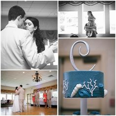 Stephanie Craig Photography » Bride and Groom, Portraits, Massachusetts Wedding Photography, Log Cabin Wedding, First Dance, Cake, Initial Topper, Nautical Theme