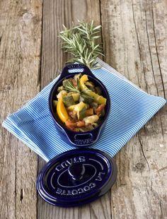 Un #contorno gustoso e genuino ricco di #Omega3, di fibra alimentare, di vitamine e minerali: Ratatouille estiva profumata.  Clicca e scopri la ricetta di #OmegaMe...