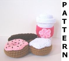 I want to buy this pattern just so I can make these cute things and set them on my coffee table