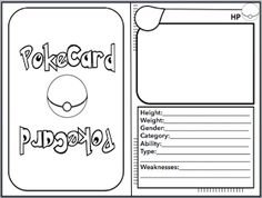 Use Pokemon Card for math. Free on my TPT store. Use Pokemon Card for math. Free on my TPT store. Pokemon Craft, Pokemon Party, Pokemon Birthday, Pokemon Games For Kids, Pokemon Card Template, Diy Pokemon Cards, Therapy Activities, Activities For Kids, Make Your Own Pokemon