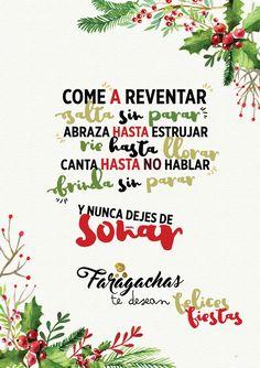 Felices fiestas de todo corazon #navidad #christmastime www.faragachas.com