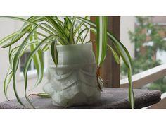 Stormtrooper flower pot
