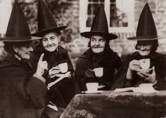 magpiemouse: Witches Party. Postcard from Switzerland.