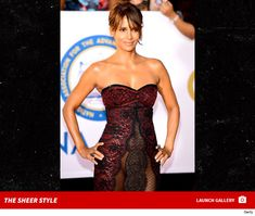 Halle Berry went commando at the NAACP Image Awards.