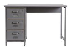 Metal locker desk Max - WOOOD. Bureau en métal. Metallschrank Schreibtisch. Metalen locker bureau Max.