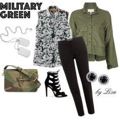Go Army Green
