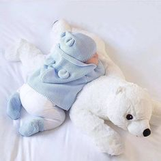 Baby Pillow Big Polar Bear Stuffed Plush Animals Newborn Plush Baby Soft Toy Kids Toys For Ch. Baby Pillow Big Polar Bear Stuffed Plush Animals Newborn Plush Baby Soft Toy Kids Toys For Children's Room Decoration Cu. The Babys, Baby Polar Bears, Cute Polar Bear, Baby Outfits, Little Babies, Cute Babies, Foto Baby, Cute Baby Pictures, Baby Pillows