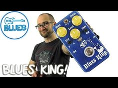 VFE Blues King Overdrive Pedal Demo - YouTube