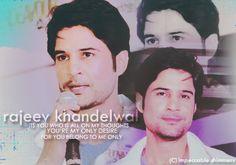 creation on actor Rajeev Khandelwal