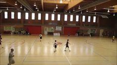 Futbol sala infantil Oroquieta Espinillo contra Ciudad de Mostoles