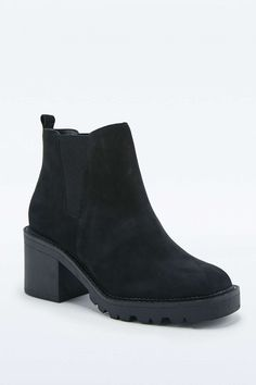Perfect Nubuck Chelsea Ankle Boots