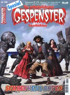 Gespenster Geschichten Spezial #206 - Schreckens-Boten