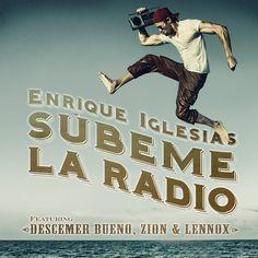 """SUBEME LA RADIO"" by Enrique Iglesias Descemer Bueno Zion & Lennox was added to my Discover Weekly playlist on Spotify Latin Music, New Music, Radios, Enrique Iglesias Albums, Hip Hop, Ile Saint Louis, Sean Paul, Dope Music, Ludacris"