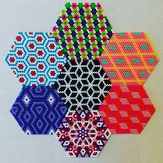 Coasters hama perler beads by trine.tf