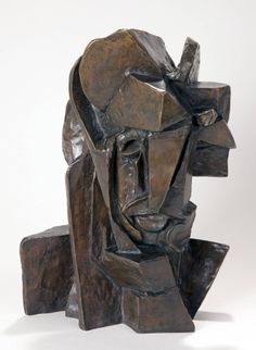 Emil Filla's Cubist Head sculpture challenged traditional notions of the body in space