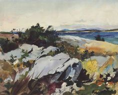 watercolor landscapes andrew wyeth - Google Search