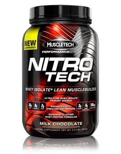 Check out the NEW Nitro-Tech from the MuscleTech Performance Series!