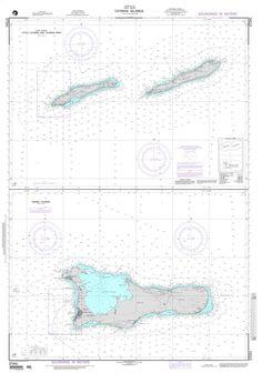 NGA Chart 27241: Cayman Islands (West Indies) Plans: A. Little Cayman and Cayman Brac