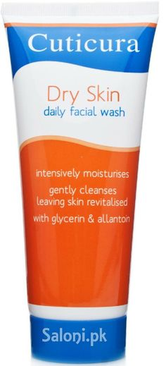 CUTICURA DRY SKIN DAILY FACIAL WASH Saloni™ Health