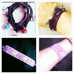 www.facebook.com/novedadess    everything is handmade =) Crochet Necklace, Facebook, Handmade, Jewelry, Fashion, Moda, Hand Made, Jewlery, Jewerly