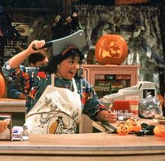 Roseanne's Halloween shows were always the best!