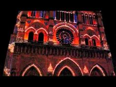 Notre Dame Cathedral, Paris - Awesome Light Show