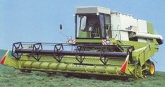 Fortschritt E517 Tractor Machine, Combine Harvester, Agriculture, Farming, Techno, Vintage, Harvest, Tractor, Tractors