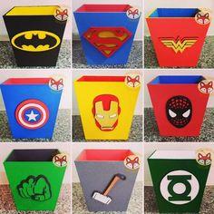 10 Centro De Mesa Cachepot Herois Vingadores Liga Da Justiça - R$ 165,00 em Mercado Livre