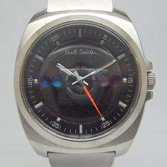 Paul Smith - 5 Eyes Open Color Changing Watch with Black Dial
