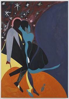 Chris Ofili's Douen's Dance (Inspired by Malick Sidibe's 'Christmas Eve')
