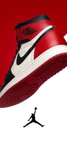 Red Air Jordan 1 Wallpaper #Jumpman Jordan Shoes Wallpaper, Sneakers Wallpaper, Nike Wallpaper, Iphone Wallpaper, Wallpaper Ideas, Air Jordans Women, Nike Air Jordans, Air Jordan Sneakers, Jordans Sneakers