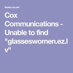 b272311e61 Cox Communications - Unable to find