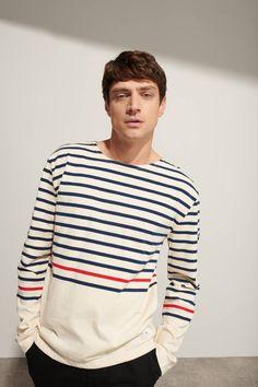 2f8dabf70d Breton striped shirt Héritage - thick cotton | CANNES | Breton ...