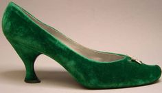 Evening Shoes by Roger Vivier for House of Dior, 1958