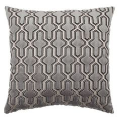 "Delancy Pillow 24"" from Z Gallerie   FOR THE READING CHAISE"