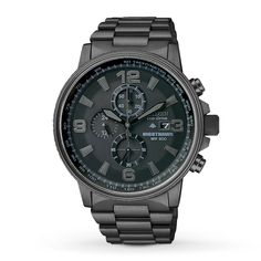 Kay - Citizen Men's Watch Nighthawk Chronograph CA0295-58E - watch that Kevin wants, wedding present idea.