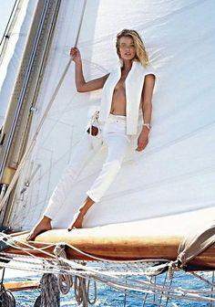 Edita Vilkeviciute by Gilles Bensimon for Vogue...