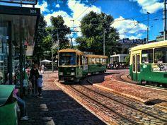 Market Square tram stop | Helsinki, Finland