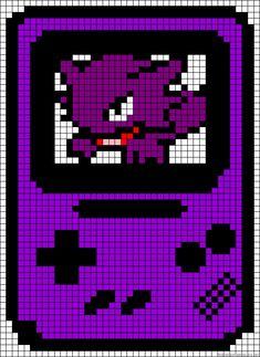 Gameboy perler bead pattern