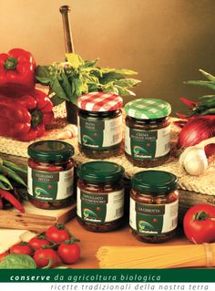 Le Conserve della Cooperativa Agri Bio L'Arcobaleno Pesto, Canning, Home Canning, Conservation