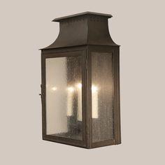 4014 Mt. Vernon Wall Lantern - Paul Ferrante - Outdoor Sconces clear glass