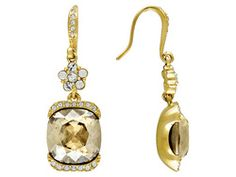 Constance's Eloquent Crystal Earrings From Titanic Jewelry Collection