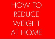 Most of us struggle our way sticking to an exercise regime and tend to give up quickly. Some of us in a misguided notion that total weight reduction is possible by diet alone, chase after every new fad diet in an effort to lose weight. Well, all is not lost just yet.    Here are the best possible exercises you can easily do to reduce weight at home.