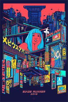 """""""Blade Runner by MaingerYou can find Blade runner and more on our website.""""Blade Runner by Mainger Cyberpunk 2077, Cyberpunk Kunst, Cyberpunk City, Futuristic City, Blade Runner Art, Blade Runner 2049, Blade Runner Poster, Blade Runner Wallpaper, Movie Posters"""